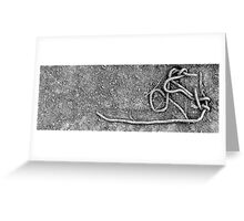 Dirt Wire Greeting Card