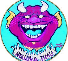 Helluva Time by Rik V. Livingston as Zono Art