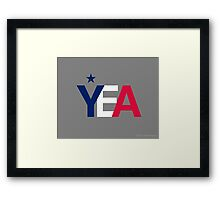 YEA: 3.21.2010 Framed Print