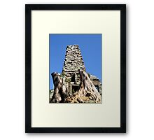 Great Tree, Siem Reap Framed Print