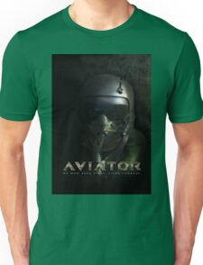 Fighter Pilot Helmet Hud Unisex T-Shirt