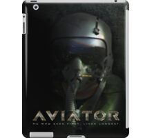 Fighter Pilot Helmet Hud iPad Case/Skin