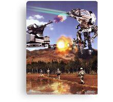 """Jihadist Mega-Botz....""   Totally Phunkt up by the ""Toastedghost"" Canvas Print"