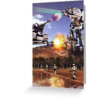 """""""Jihadist Mega-Botz....""""   Totally Phunkt up by the """"Toastedghost"""" Greeting Card"""