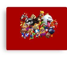 It's-a me, Mario! ... or not?  Canvas Print