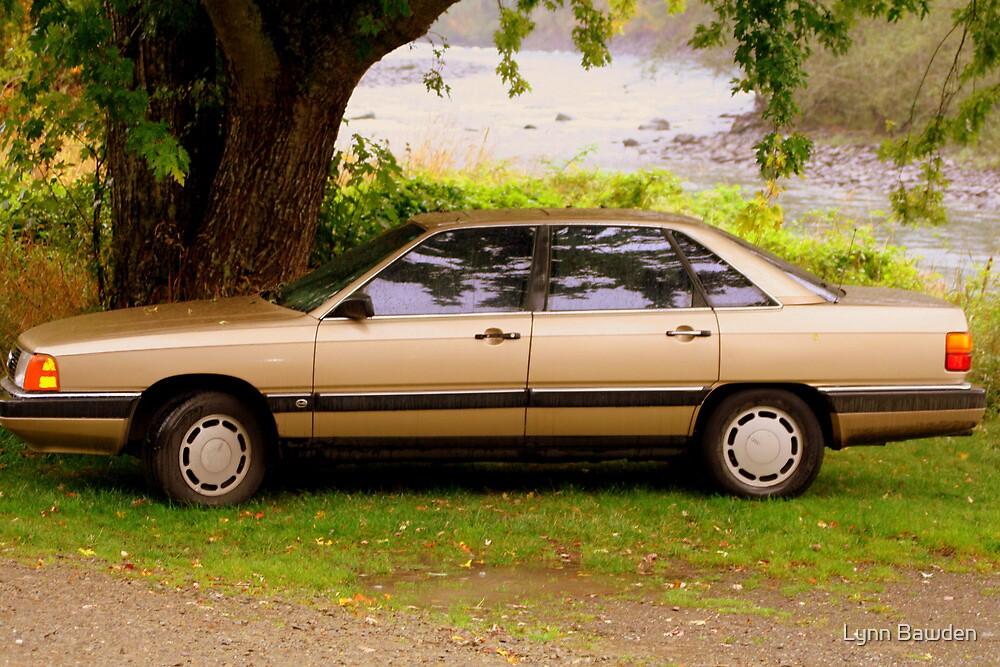 """""""1987 Audi 5000S"""" by Lynn Bawden"""