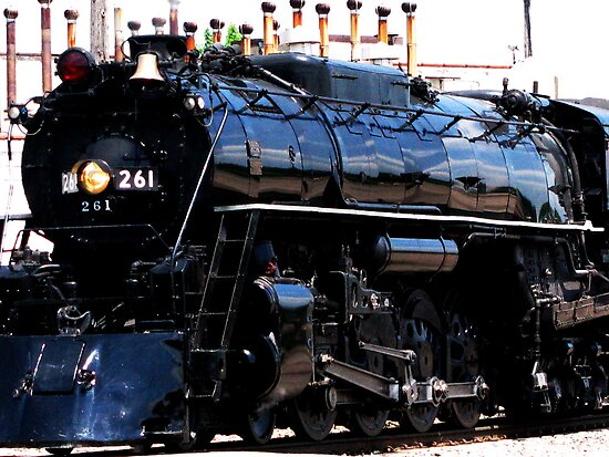 Milwaukee Road 261 by shutterbug2010