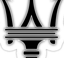 Maserati Trident Logo Sticker