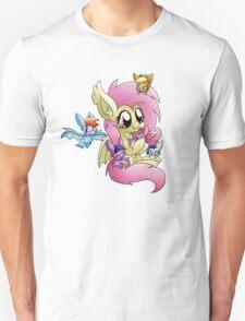 Flutterbat with mane 6 bats Unisex T-Shirt
