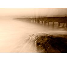 Dusk at Middle Brighton Baths #2 Photographic Print