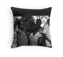 meet me in the kitchen Throw Pillow