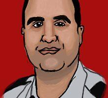 Maj. Nidal Malikl Hasan by Sparc_ eg