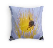 Bee tempted Throw Pillow