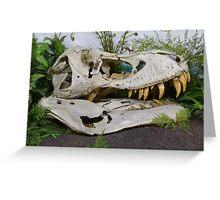 T-Rex Fossil Greeting Card