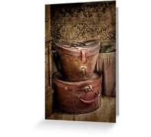 Valise ~ Monte Cristo Greeting Card