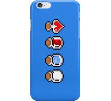 Zelda's potions - pixel art iPhone Case/Skin
