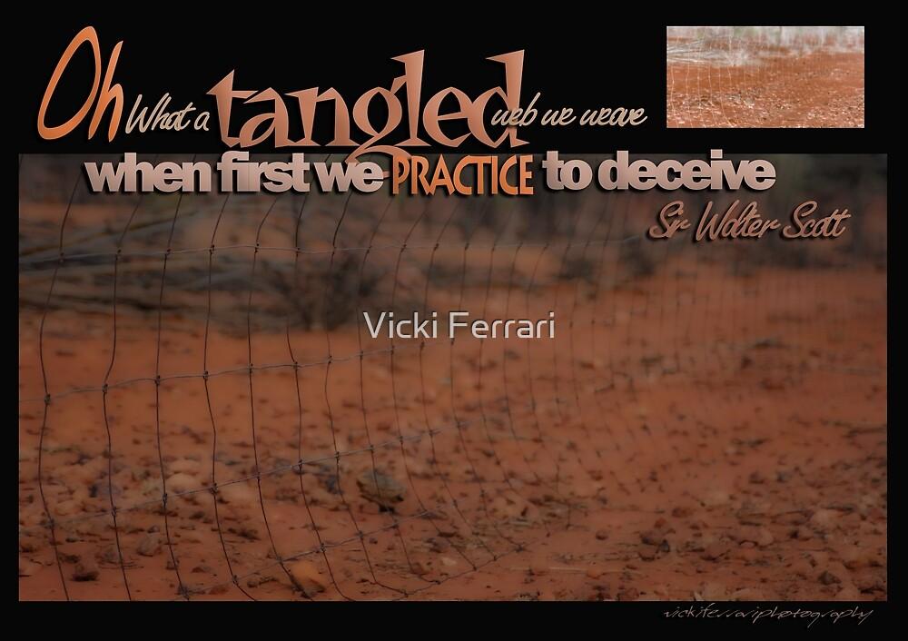 Tangled Webs © Vicki Ferrari Photography by Vicki Ferrari