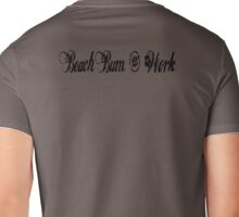 Beach Bum @ Work Mens V-Neck T-Shirt