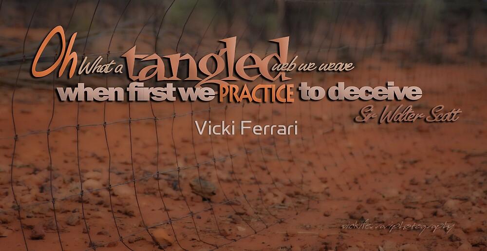 Tangled Webs © 05 by Vicki Ferrari