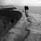 Stroll on the Cobb by StephenRB
