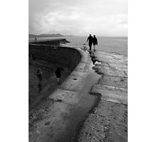 Stroll on the Cobb Photographic Print