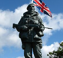 Royal Marines Statue, Portsmouth by wiggyofipswich