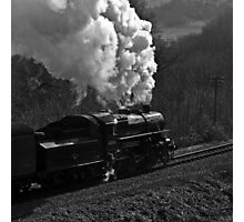 """LMS 2-6-0 Class 4MT no. 43106 """"The Flying Pig"""" Photographic Print"""