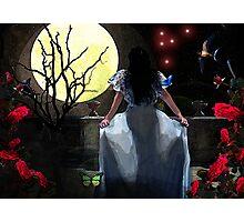 Moon Gazer Photographic Print