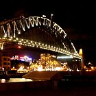 Sydney Harbour Bridge Panorama- Australia by Candice Campbell