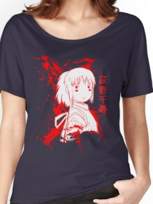 Spirited Ink Scroll Chihiro Women's Relaxed Fit T-Shirt