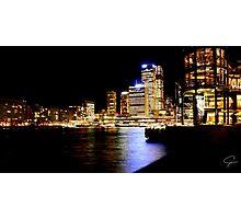 Circular Quay- Sydney, Australia Photographic Print