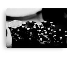 Poker time Canvas Print
