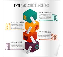 ENTJ Sarcastic Functions Poster