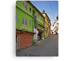 Vincent Hill, Mussoorie Canvas Print