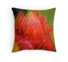 The ginger torch Throw Pillow