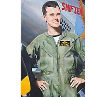 Matt Hall- Red Bull Air Race Pilot Photographic Print