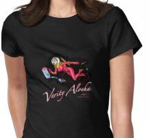 Verity Aloeha - Spacegirl Adventuress... Womens Fitted T-Shirt