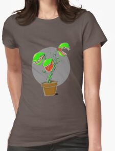 Angry Plants Womens Fitted T-Shirt