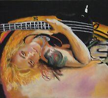 Duff Mckagan - Guns N Roses by Nick Winwood