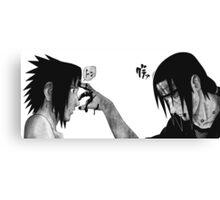 Itachi and Sasuke Canvas Print