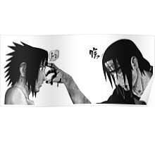 Itachi and Sasuke Poster
