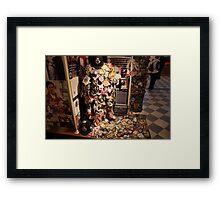New York - 9/11 Tributes Framed Print
