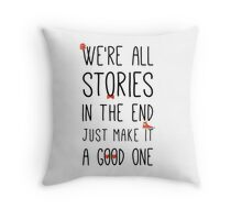 DOCTOR WHO STORIES Throw Pillow