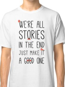DOCTOR WHO STORIES Classic T-Shirt