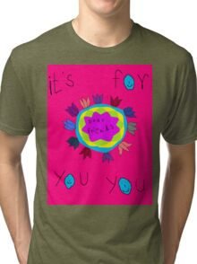 rainbow colors Tri-blend T-Shirt