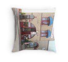 Red Garter Saloon & Bakery, Route 66, Flagstaff. Throw Pillow