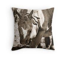 Rhino - Toronto Ontario Throw Pillow
