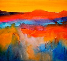 Landscape Abstract...The Niagara Escarpment by ©Janis Zroback