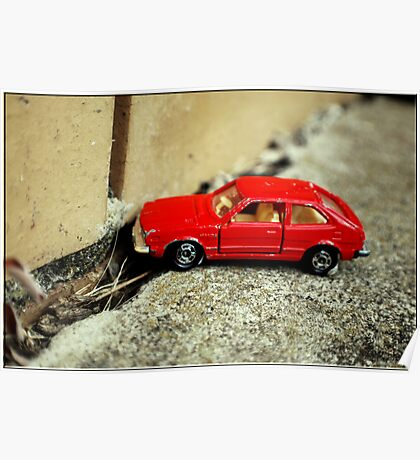 little red car .11 Poster