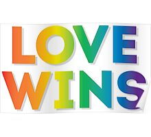 Love Wins. Poster